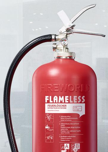 OS Flameless Feuerlöscher 10 Jahre wartungsfrei