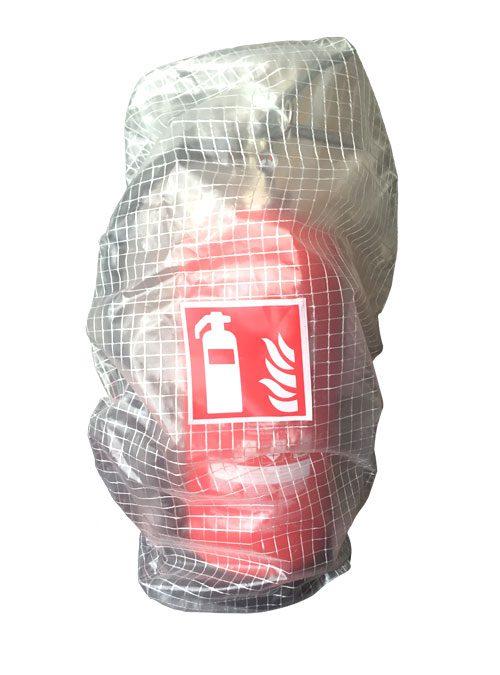 Kunststoffhaube für Feuerlöscher